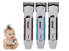 Rechargeable Electric Hair Clipper Trimmer Cutter Haircut Tool Kit Set Beauty