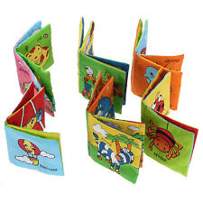 Baby Kid Funny Soft Cloth Book Infant Intelligence Development Cognize Toy Books