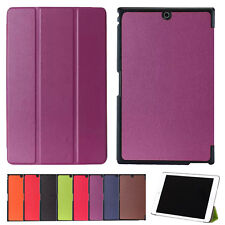 """For 8"""" Sony Xperia Z3 Tablet Compact Tablet Tri-Fold Ultra Slim Case Stand Cover"""