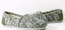 Toms Wmns Classic Chive Green Knit Shoes 10003624 US Womens 6~9 All Available.