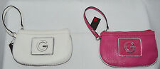 G By Guess RANDI Women's Croc-Embossed Wristlet Purse Cluth