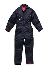 NEW Red Kap Men's Duck Insulated Coveralls Navy Blue NEW Various Sizes