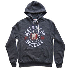 Roots of Fight Bruce Lee JKD Hoodie - Charcoal