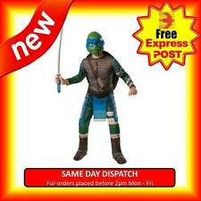 TEENAGE MUTANT NINJA TURTLES LEONARDO CHILDREN COSTUME TMNT KIDS COSPLAY