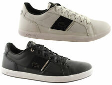 LACOSTE EUROPA MENS LEATHER CASUAL LACE UP SHOES/SNEAKERS/FASHION/SALE
