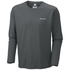 Columbia Zero Rules Long Sleeve Shirt - Graphite