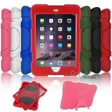 Shockproof Military Heavy Duty Rubber Hard Stand Case Cover For Apple iPad mini