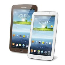 "Samsung Galaxy Tab 3 7"" 8GB Android 4.1 Wi-Fi Tablet SM-T210R Brown or White"