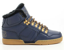 OSIRIS Skate Shoes HI TOPS NYC 83 SHR NAVY/GOLD/GUM