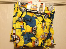 Despicable Me 2 Mens Yellow Minion Lounge Sleep Pants S-XXL Size 28-46 Brand New