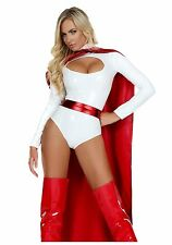 Womens Powerful Superhero Costume