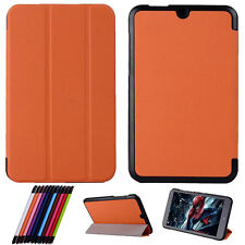 """For 8"""" HP Stream 8 Tablet PC Tri-Fold Ultra Slim Leather Case Stand Cover"""