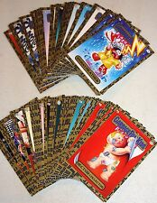 2011 GARBAGE PAIL KIDS FLASHBACK SERIES 2 GOLD CARDS U PICK 1A-80B RARE GPK