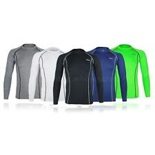 Mens Bike Sports Running Long Sleeve Cycling Jersey Outdoor Bicycle Clothes Coat