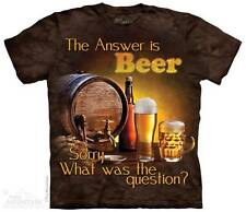 BEER OUTDOOR ADULT T-SHIRT THE MOUNTAIN