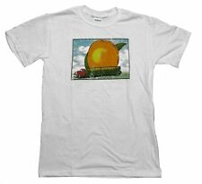 Allman Brothers Eat A Peach 1973 Summer Tour Licensed Adult T-Shirt - White