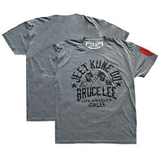Roots of Fight Bruce Lee Classic JKD T-Shirt - Gray