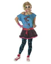 Teen Young Adult size 80's Valley Girl Costume - size Medium fnt
