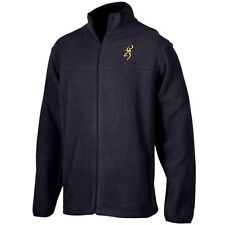 BROWNING BUCKMARK MEN'S FLEECE JACKET - BLACK COAT