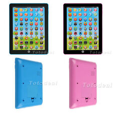 New Year Kids gift Tablet PAD TAB Educational Toy Gift for Girls Boys blue pink