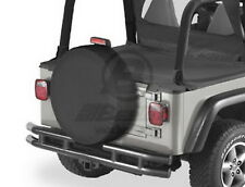 Bestop 61031-15 Spare Tire Cover Black Denim X-Large 31 in. x 11 in.