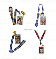 Dragon Ball Z Official Genuine Lanyard ID Holder & Charm *NEW*