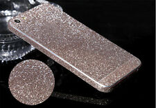 Luxury Bling Crystal Diamond Glitter Screen Protector Film Case For iPhone 4 5 6