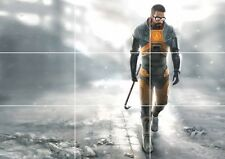 HALF LIFE GAME HUGE MOSAIC POSTER 35 INCH x 25 INCH