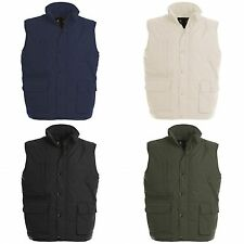 B&C Mens Explorer Full Zip Warm Water Repellent Bodywarmer/Gilet