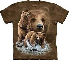 FIND 10 BROWN BEARS CHILD T-SHIRT THE MOUNTAIN