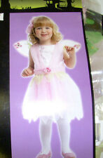 Garden Pink Fairy Costume Dress-up Wings NWT 2-4 4-6