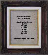 """NEW!  Beautiful 8x10 Picture Frame - 2 3/4"""" Wide"""