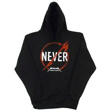 Metallica Through The Never Logo Licensed Adult Pullover Hoodie S-XXL