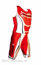 new Louis Garneau Elite Pro triathlon skinsuit tritek, triair chamois wide band