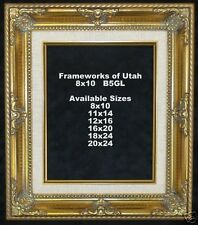 """NEW!  11x14 Gold Frame with Liner - 2 3/4"""" Wide"""