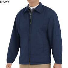 NEW Navy Blue Red Kap Work Jacket - JT50 - Performance Panel Jacket