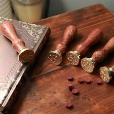 Retro Alphabet Initial Sealing Wax Seal Stamp Invitations Envelope Personalized