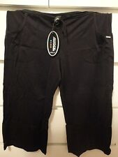 VICTORIA'S SECRET SHOCK ABSORBER GYM PANTS BLACK NEW WITH TAGS