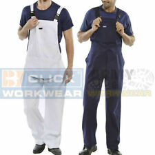 Mens Bib And Brace Painters & Decorators Overalls Engineers Dungarees Mechanic