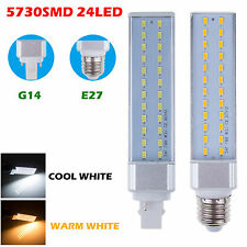 Bright 10W 12W E27 G24 SMD 5730 LED Spot Light Lamp Bulb Bombillas Downlight