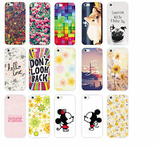 Cute Design Fashion Flower Pattern Hard Back Case Cover For iphone 4S 5 5S 5C 6