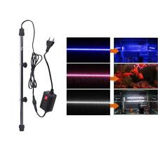 LED Aquarium Fish Tank Light Waterproof Bar Submersible Lamp EU Plug 110V-240V