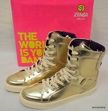 Zumba Street Orlando 2014 Sneakers Shoes Gold - RARE!