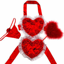 Victoria's Secret Valentine's Day Heart Love Costume Sexy Little Things Naughty