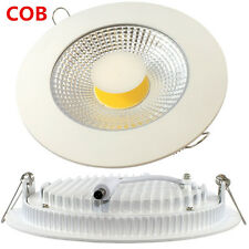 Cob Led Panel Light Recessed Ceiling Downlight Bombilla Ultra Slim Lamp 5/10/15W