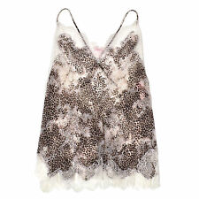 Victoria's Secret Very Sexy Sheer Slip Chantilly Lace Nightgown New tttt07