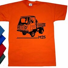 T-Shirt Multicar M25 Karo MS-M382