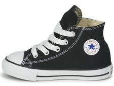 CONVERSE INFANTS, KIDS TRAINERS, SHOES, ALL STAR HI TOP UK 5 to 10 BLACK