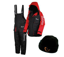 NEW IMAX THERMO SUIT 2PC SEA FISHING 100% WATERPROOF + FREE IMAX CAP