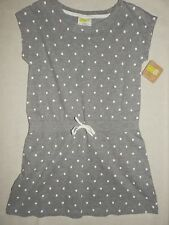 Crazy8 by Gymboree Heather Grey White Polka Dot Dress NWT 5 6 7 8